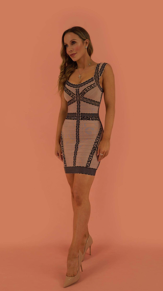 Ariah Bandage Dress