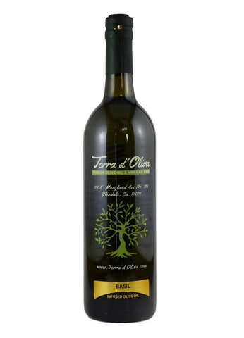 Infused Olive Oil – Basil (750ml)