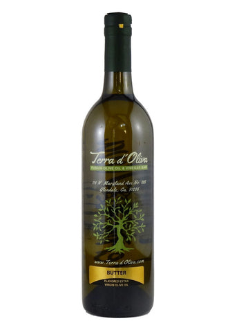 Naturally Flavored Extra Virgin Olive Oil – Butter (750ml)