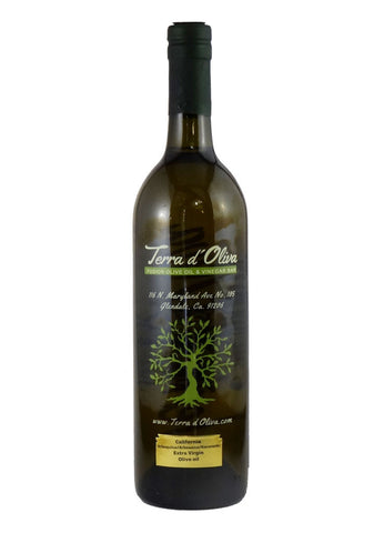 Extra virgin olive oil - Arbequina - California (750ml)