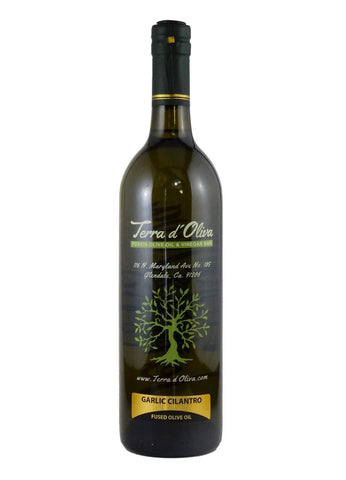 Fused Olive Oil – Garlic Cilantro (750ml)