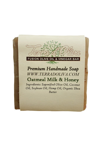 Oatmeal Milk and Honey Premium Handmade Soap
