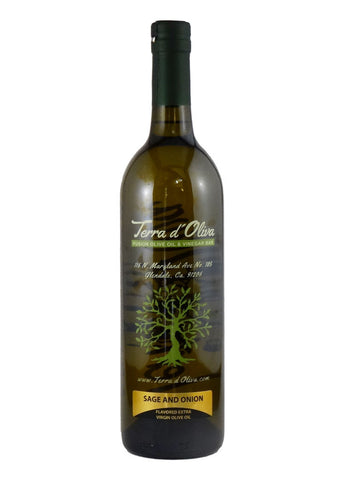 Sage and Onion Naturally Flavored Extra Virgin Olive Oil (750ml)