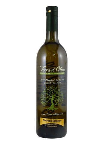 Naturally Flavored Extra Virgin Olive Oil – Smoked Hickory (750ml)