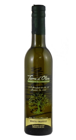 Naturally Flavored Extra Virgin Olive Oil – White Truffle (375ml)