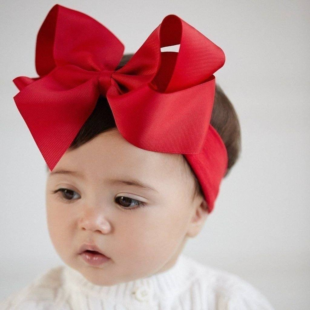 Elegant Baby Bow Headband-Elegant Baby-Sweet as Sugar Children's Boutique
