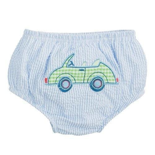 Elegant Baby Car Applique Baby Bloomer-Elegant Baby-Sweet as Sugar Children's Boutique