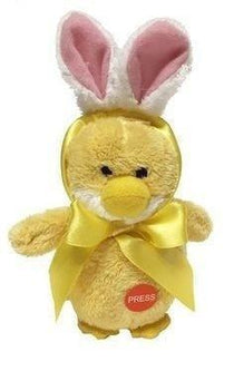 Ganz Soft Touch Lil Chick with Bunny Ears-Ganz-Sweet as Sugar Children's Boutique