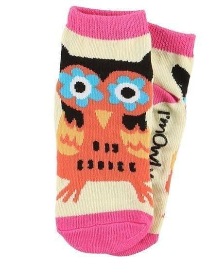 Lazy One Owl Socks-Lazy One-Sweet as Sugar Children's Boutique