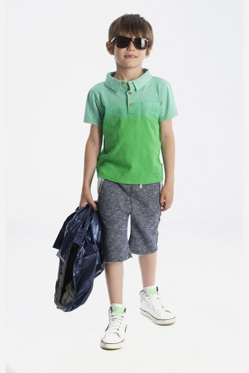 Outlet Appaman Boys Green Rebel Polo-Appaman-Sweet as Sugar Children's Boutique
