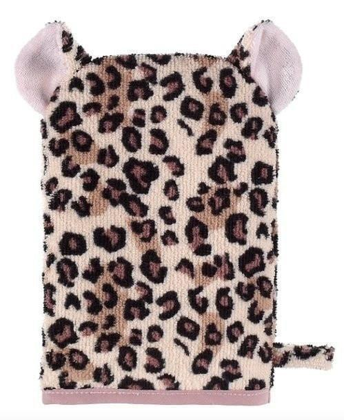 Outlet Ganz Leopard Bath Mitt-Ganz-Sweet as Sugar Children's Boutique
