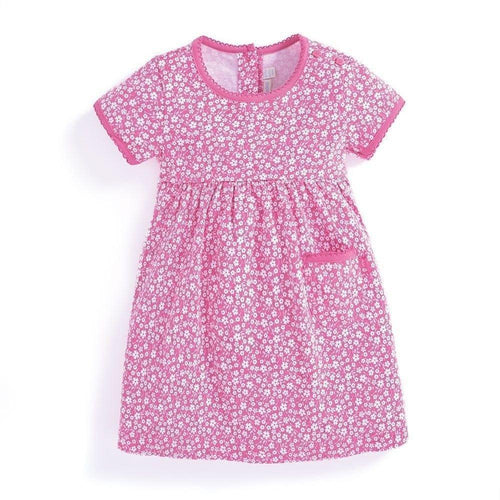 Outlet Jojo Maman Bebe Ditsy Orchid Dress-JoJo Maman Bebe-Sweet as Sugar Children's Boutique