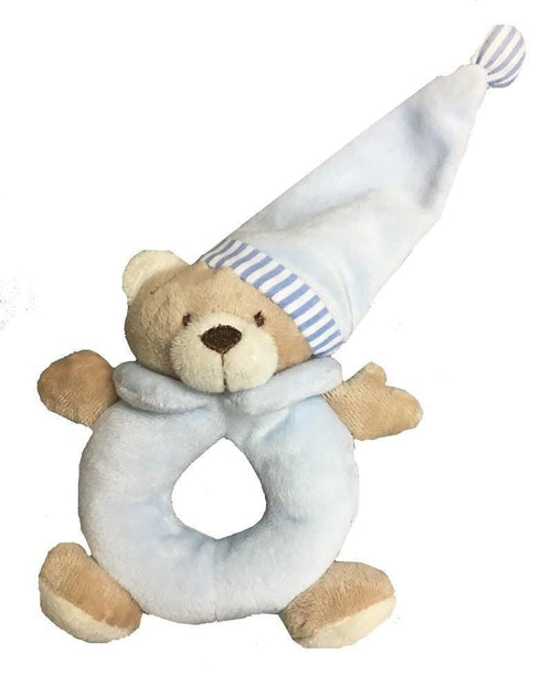 Outlet K&K Baby Goodnight Bear Rattle-K&K Baby-Sweet as Sugar Children's Boutique