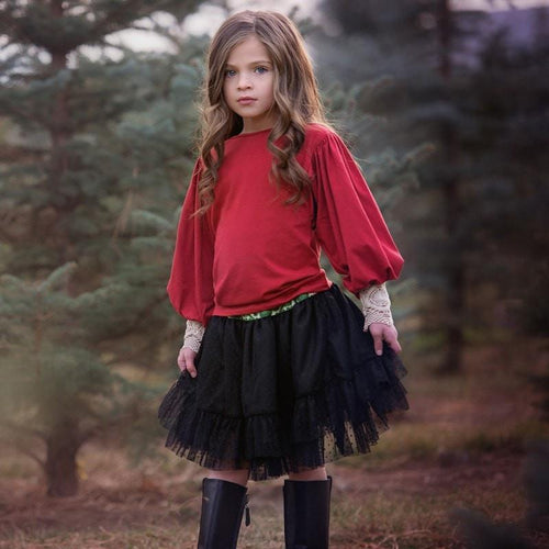 Outlet Persnickety Leah Skirt-Persnickety-Sweet as Sugar Children's Boutique