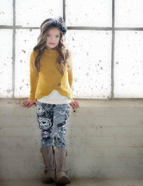 Persnickety Velvet Veronika Skinny Jeans-Persnickety-Sweet as Sugar Children's Boutique
