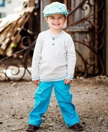 Rugged Butts Henley Tee-Rugged Butts-Sweet as Sugar Children's Boutique