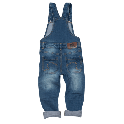 RYB Come On Eileen Denim Overalls-Rock Your Baby-Sweet as Sugar Children's Boutique