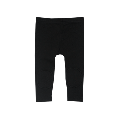 RYB Knee Patch Tights Black-Rock Your Baby-Sweet as Sugar Children's Boutique