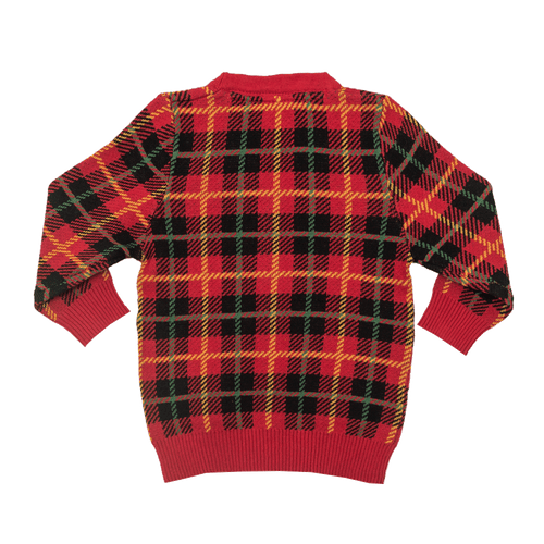RYB Tartan Cardigan-Rock Your Baby-Sweet as Sugar Children's Boutique