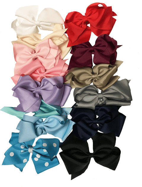 Sweet as Sugar Large Bows-Sweet as Sugar-Sweet as Sugar Children's Boutique