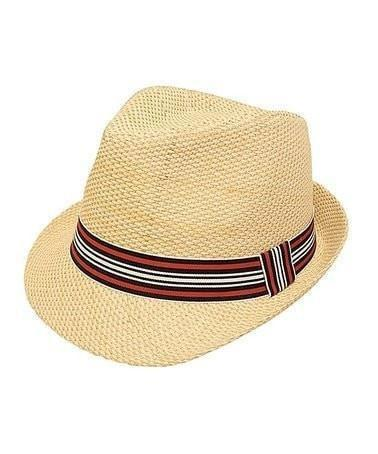 Sweet as Sugar Natural Classic Fedora-Sweet as Sugar-Sweet as Sugar Children's Boutique