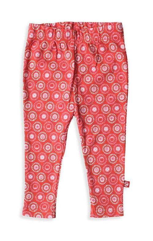 Zutano Apple Basket Skinny Legging in Paprika-Zutano-Sweet as Sugar Children's Boutique