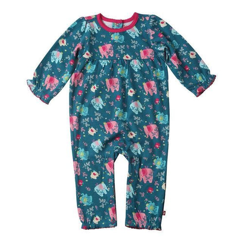 Zutano Fairy Elephant Princess Romper