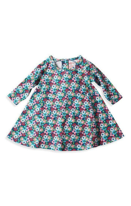 Zutano Edelweiss Raglan Trapeze Dress-Zutano-Sweet as Sugar Children's Boutique