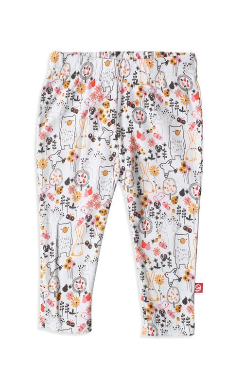 Zutano Folktale Skinny Legging in Cream-Zutano-Sweet as Sugar Children's Boutique