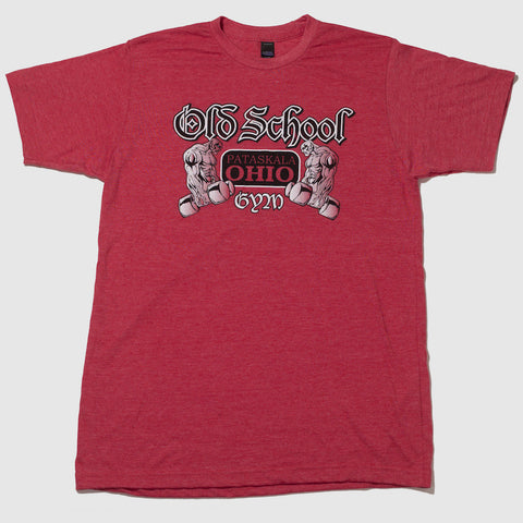 Famous Old School Gym Red T-Shirt Front