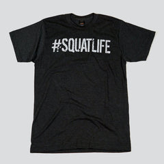 #SQUATLIFE T-Shirt Charcoal