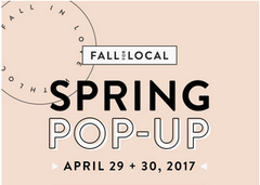 Fall for Local spring pop-up market