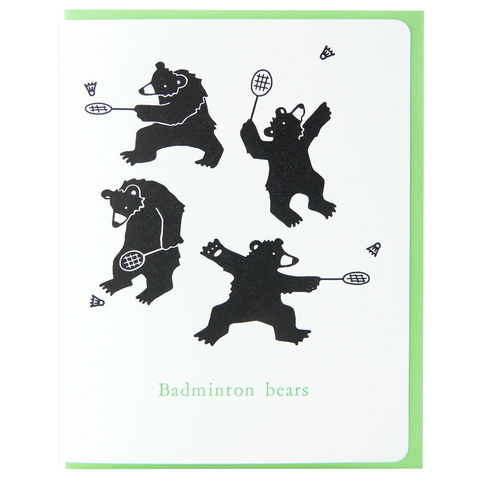 Badminton Bears