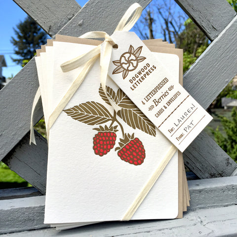 INSTAGRAM GIVEAWAY •  Berries 4 Card Set
