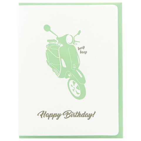 Birthday Beep Scooter