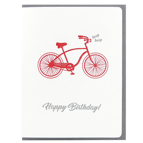 Birthday Beep Bicycle