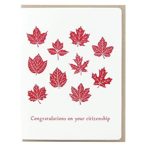 Congratulations on citizenship