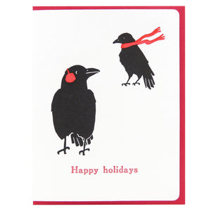 Happy Holidays Crows