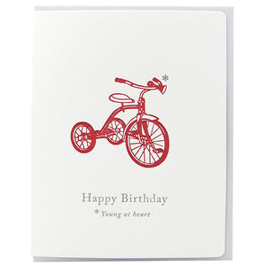 Birthday Trike Young At Heart
