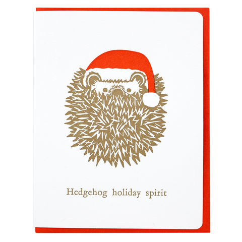 Hedgehog holiday