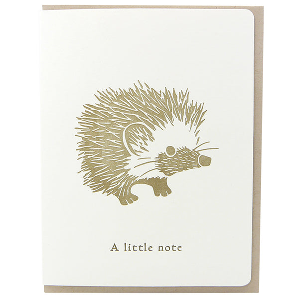 INSTAGRAM GIVEAWAY • Hedgehog 4-Card Set