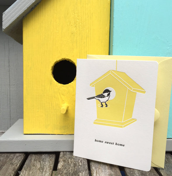 Chickadee home sweet home