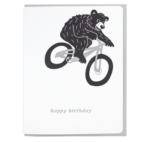 Mountain Biking Bear
