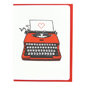 Typewriter Heart