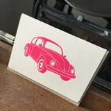 Vintage VW Beetle Folding Card