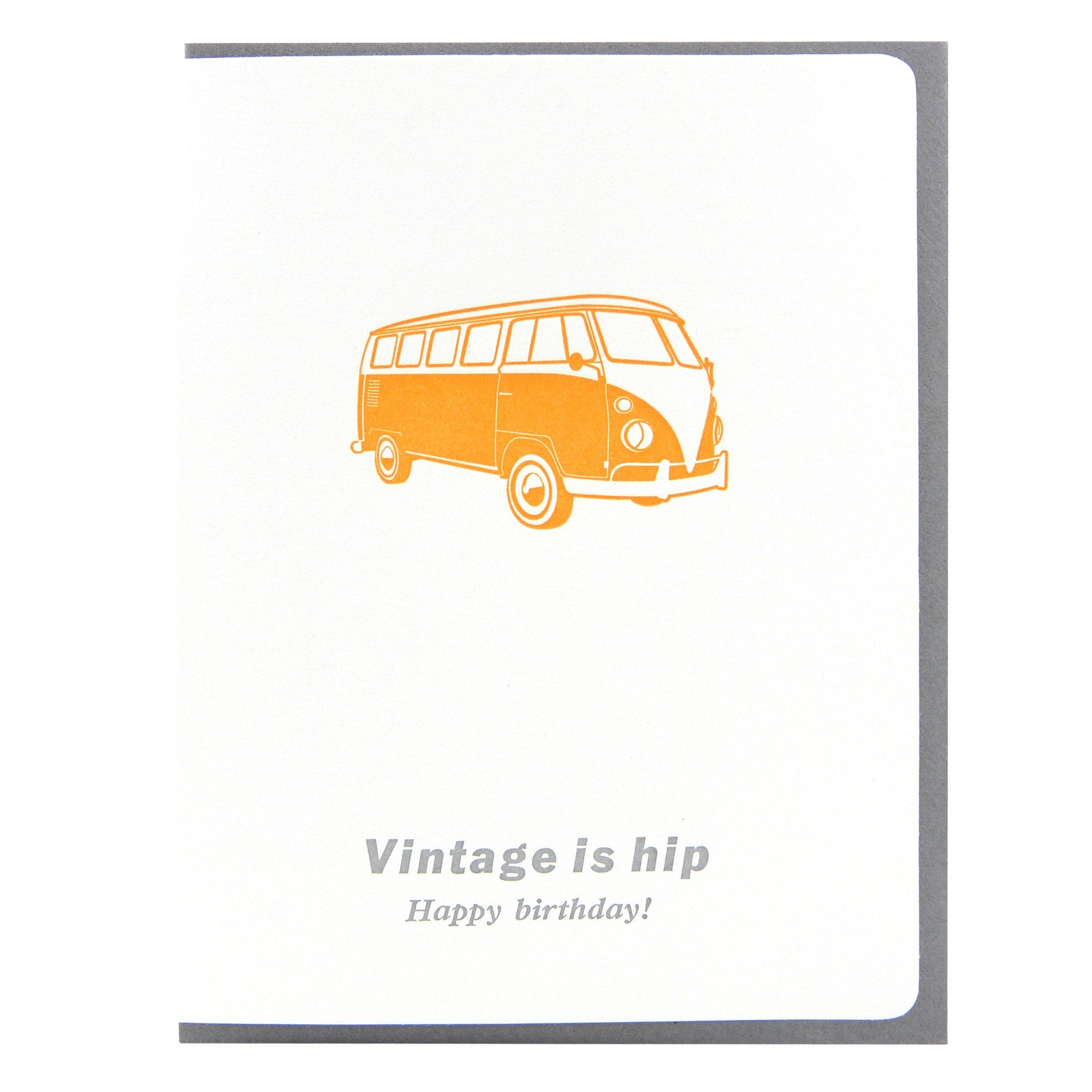Birthday Vintage Is Hip (VW)
