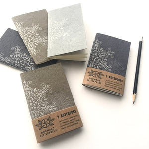 Notebook set: Snowflakes