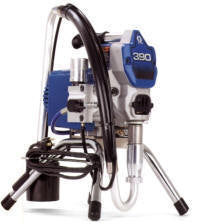 Graco 390 pc electric airless sprayer.