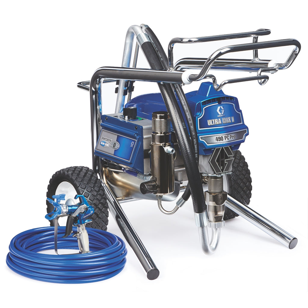 Graco 17E853 Ultra Max II 490PC Lo-Boy Complete Sprayer