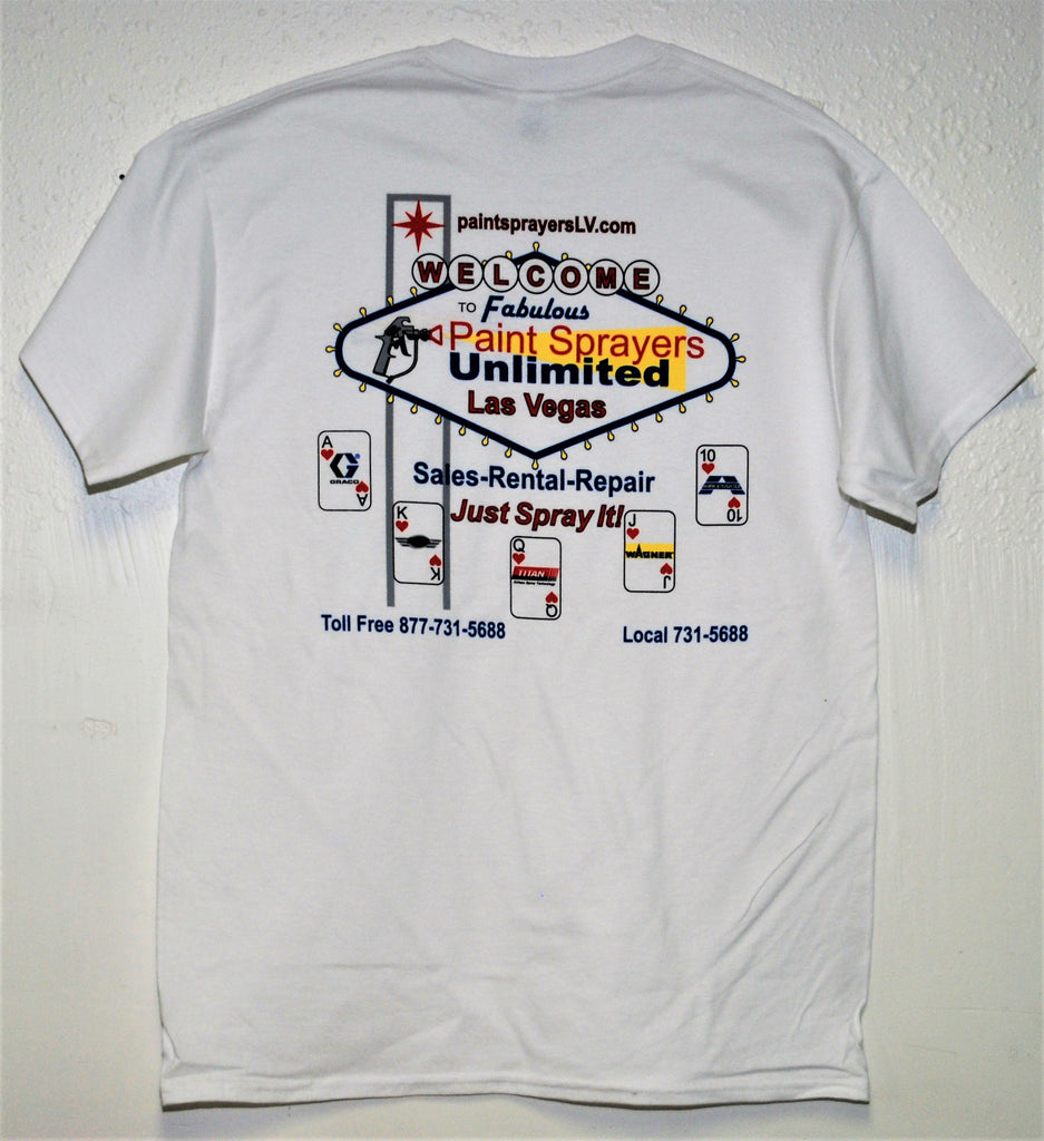 Paint Sprayers Unlimited Short Sleeve Tee Shirt